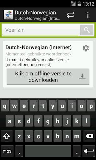 Dutch-Norwegian Woordenboek