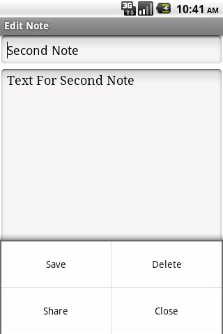 【免費生產應用App】Note Pad-APP點子