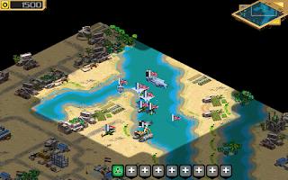 Screenshot of Desert Stormfront LITE - RTS