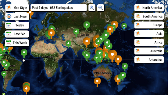 Live earthquake map android apps on google play live earthquake map screenshot thumbnail gumiabroncs Images