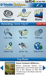 Trimble Outdoors Navigator Pro - screenshot thumbnail