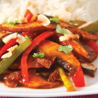 Hot and Sour Vegetable Indian Stir Fry.