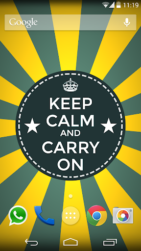 Keep Calm - Live Wallpaper