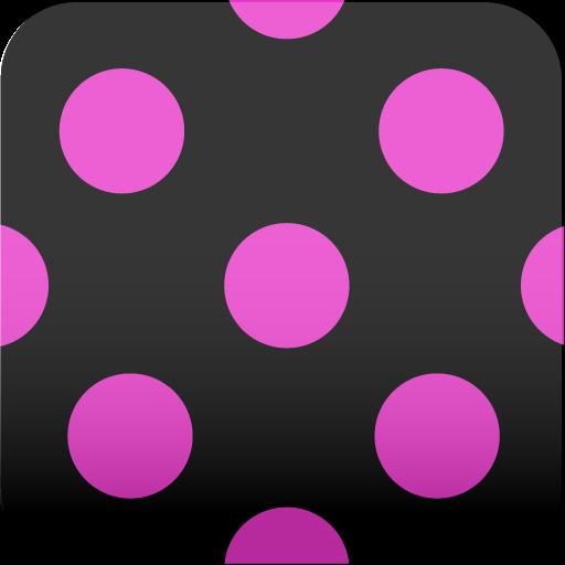 カワイイ♪水玉♪【アンドロイド壁紙】ver10 個人化 App LOGO-APP開箱王