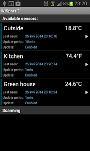 WiFi Thermometer WiSpherT°- screenshot thumbnail