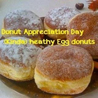 Healthy Egg (kinda) donuts