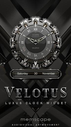 VELOTUS Designer Clock Widget