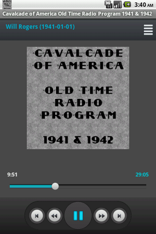 Cavalcade of America OTR V.IV
