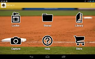 Screenshot of RVP:Baseball & Softball video