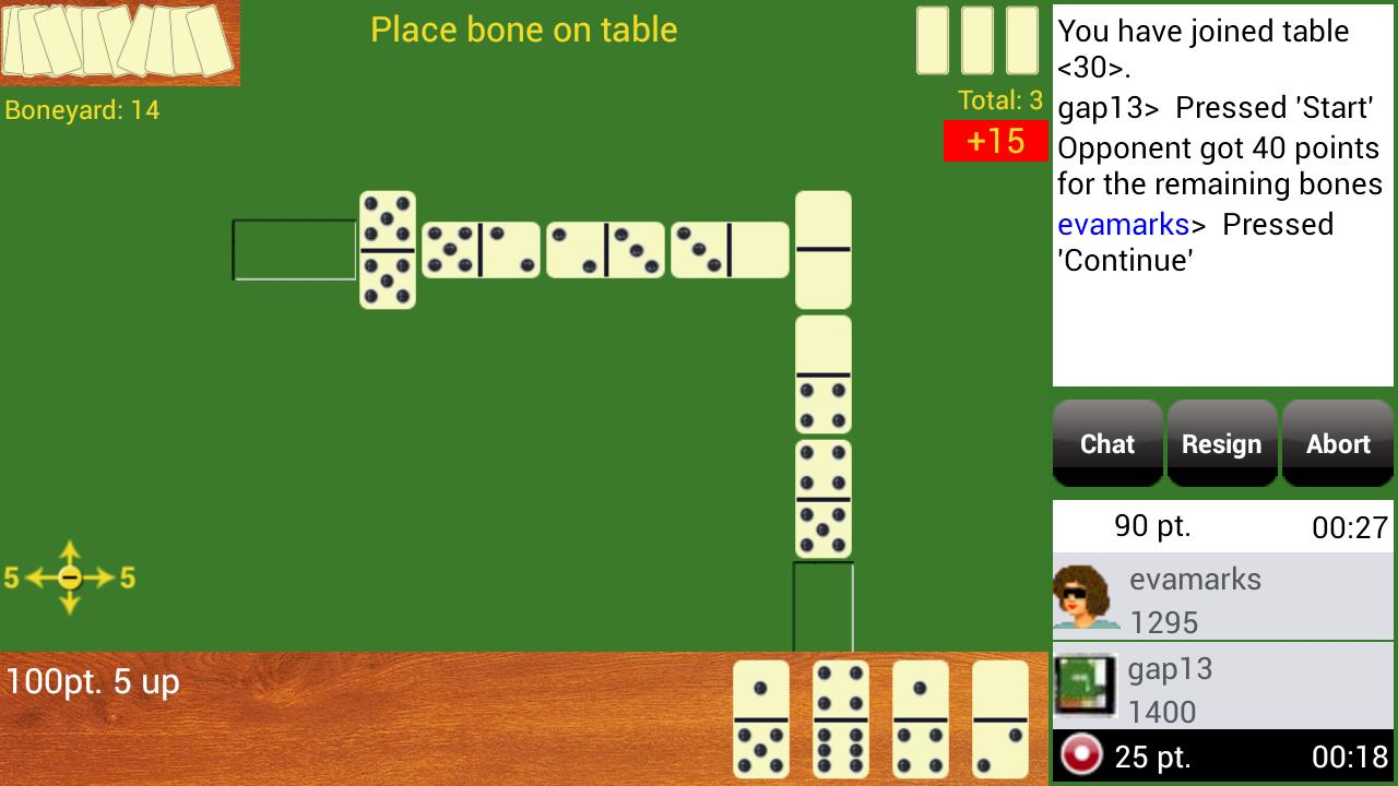 Domino Live - screenshot