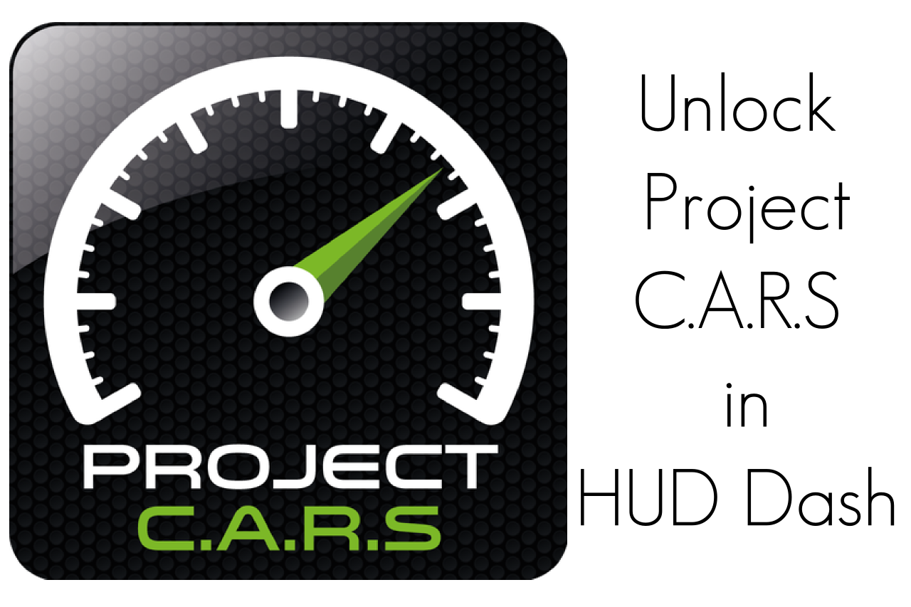 HUD Dash KEY for Project Cars- screenshot