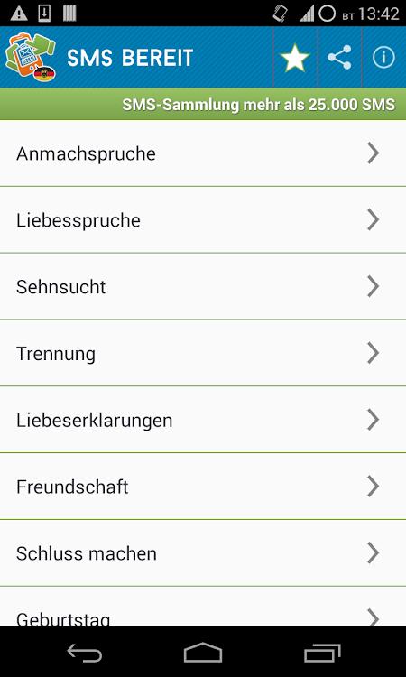 Sammlung Sms Grüßesprüche Android Aplicaciones Appagg