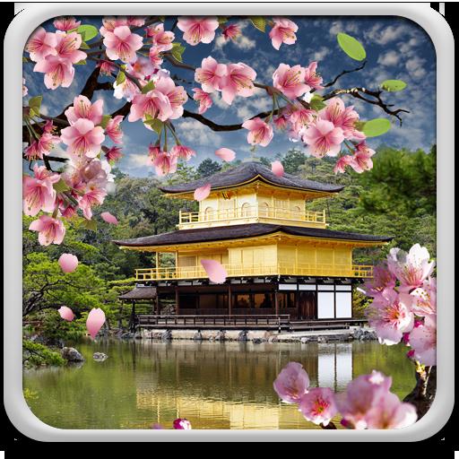樱花园动态壁纸 個人化 App LOGO-硬是要APP