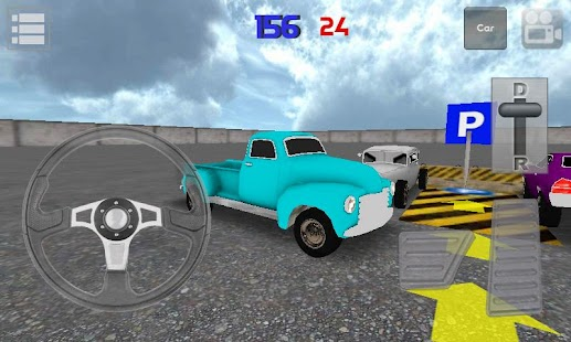 Classic Car Parking 3D Light - screenshot thumbnail
