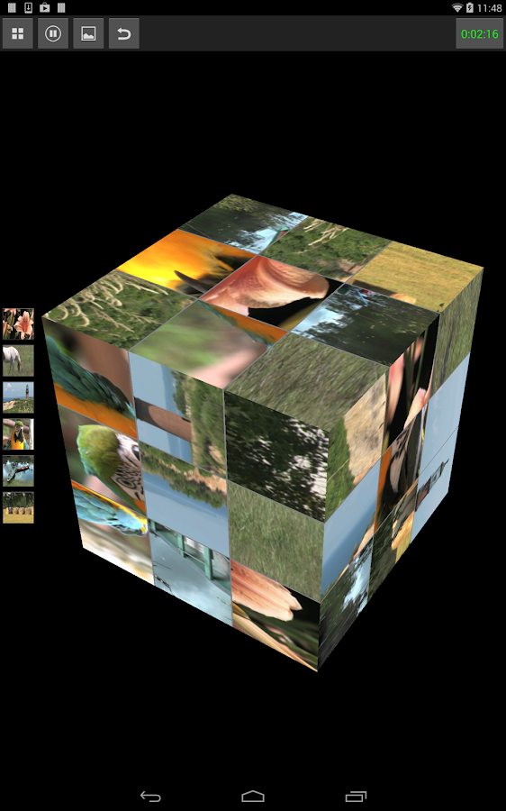 Video Puzzle Cube- screenshot
