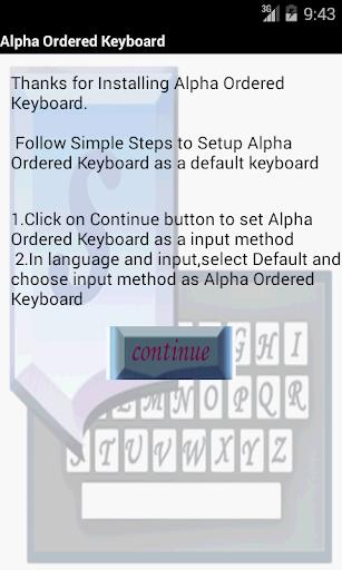 ABC Ordered Keyboard