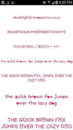 Color Fonts for FlipFont #6 3.22.0 screenshots 1