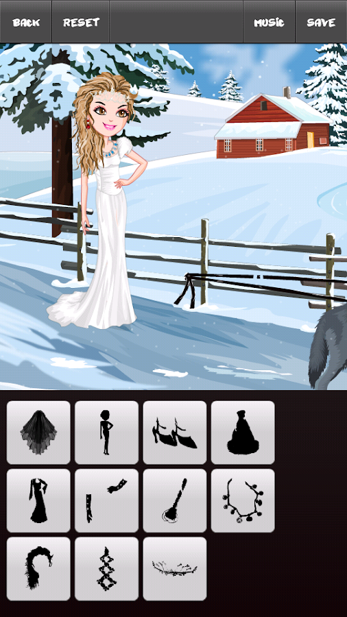 Christmas Holiday Week Dressup - screenshot