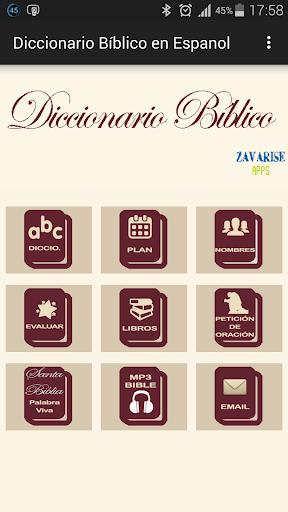 Diccionario Bíblico en Español