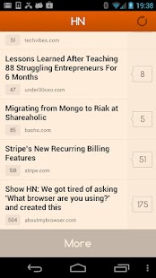 HN - Hacker News Reader- screenshot thumbnail