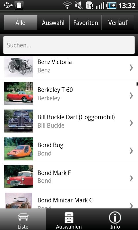 1000 Automobile aus aller Welt - screenshot