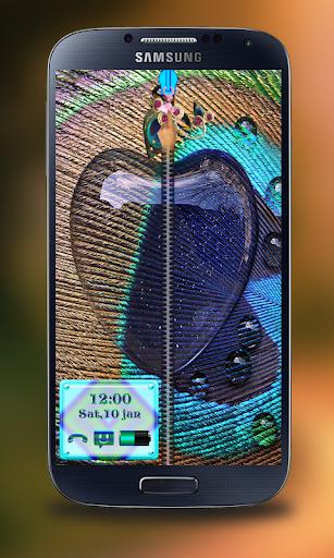 玩免費個人化APP|下載心臟孔雀郵編屏幕鎖定 app不用錢|硬是要APP