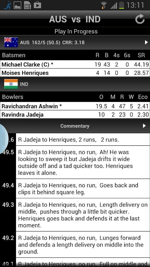 NDTV Cricket - screenshot