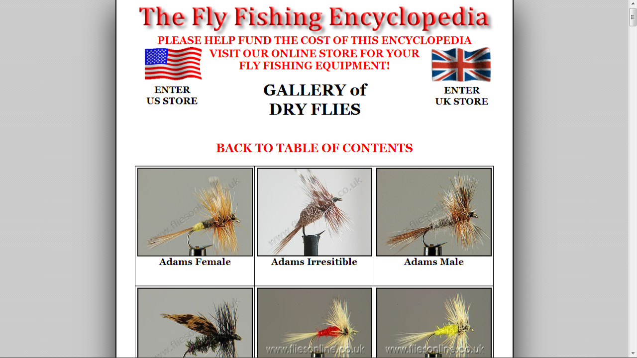 Fly Fishing Encyclopedia- screenshot