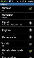 Screenshot of Snooze Clock - Friendly clock