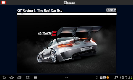 Racing Games Access For Tablet 1.0 screenshot 68208