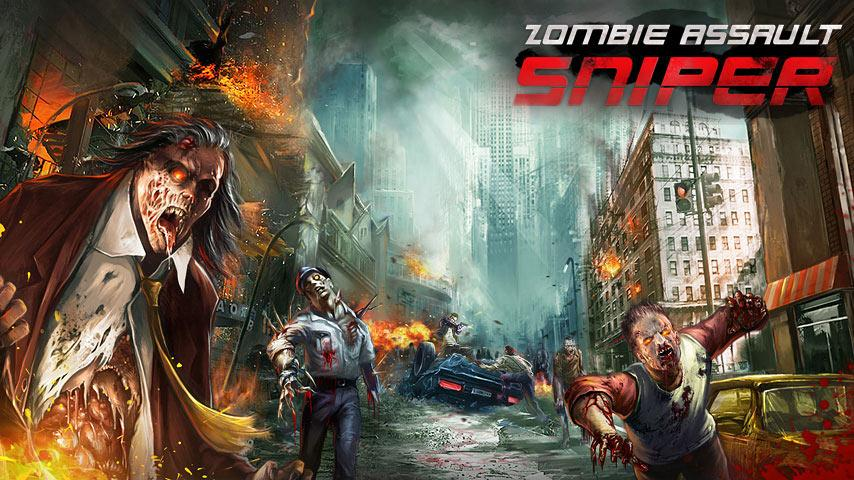 Screenshots of Zombie Assault:Sniper for iPhone