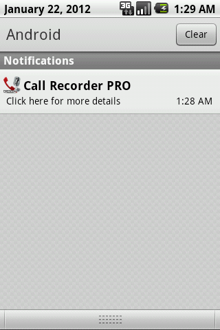 Call Recorder PRO- screenshot