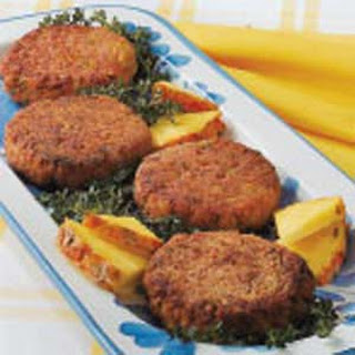 No-Fuss Ham Patties.