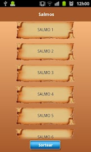 Salmos para Android - screenshot thumbnail