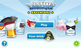 Screenshot of Drink Adventure