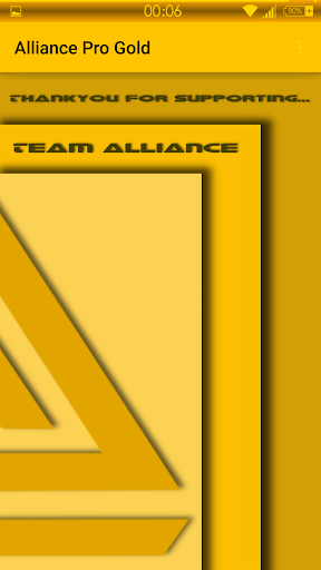 Alliance Pro Gold Note 3