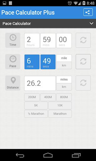 Pace Calculator Plus