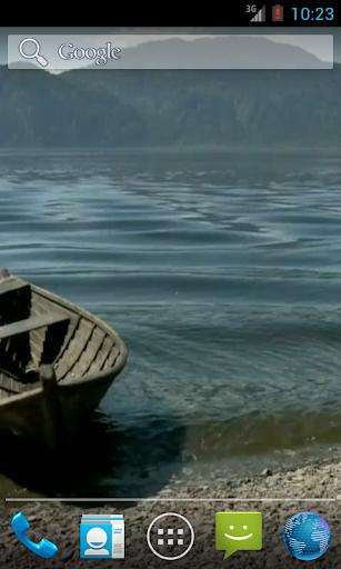 湖HDのボート
