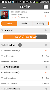 NexTrack: Making Exercise Fun - screenshot thumbnail