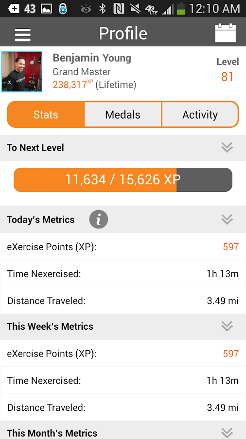 Nexercise = fun weight loss - screenshot