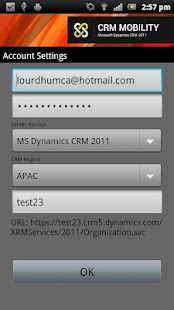 CRM Mobility (MS Dynamics CRM) - screenshot thumbnail
