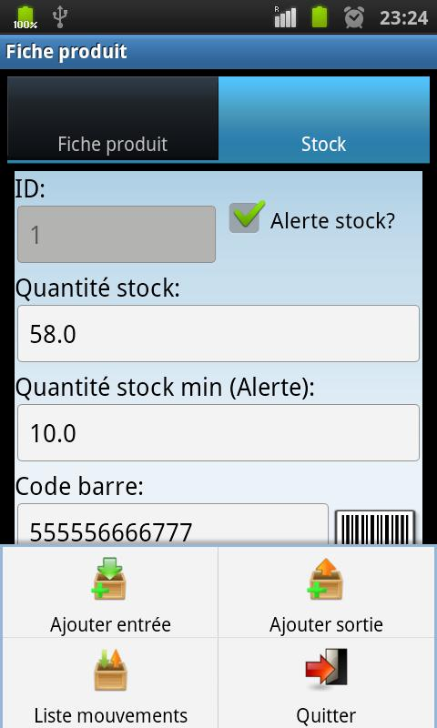 Stock and Orders Manager - screenshot