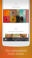 Screenshot of Rdio Music