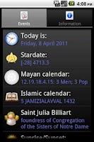 Screenshot of OpenAlmanac