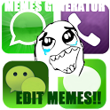 Memes Quotes Smileys for chat icon