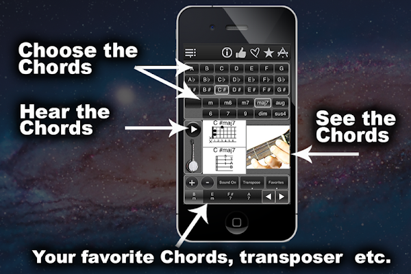 120 Banjo Chords - screenshot