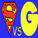 Superman VS Goku Espanol logo