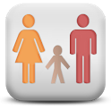 Family finder Phone tracker icon