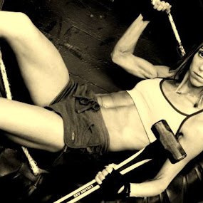 Female Crossfitter by Sabrina Franks - Sports & Fitness Fitness