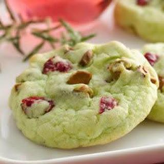 Cran-Pistachio Cookies.